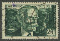 1951. Франция. Vincent d'Indy, (•) [imp-890] 17