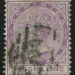 "1883. Доминика. ""Королева Виктория"", 2½P, (•) [imp-13317] 3"