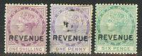 """1883. Доминика. """"Королева Виктория"""", набор с надпечатками """"Revenue"""" [imp-13324] 5"""
