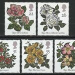 "Great Britain. Roses, 1991. Великобритания. Серия ""Розы"""