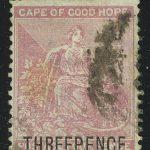 """1879. Мыс Доброй Надежды. """"Надежда"""", доплатная, (•) [imp-13333] 2"""