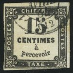 1863 New Value - Typographed. White or Yellowish Paper.