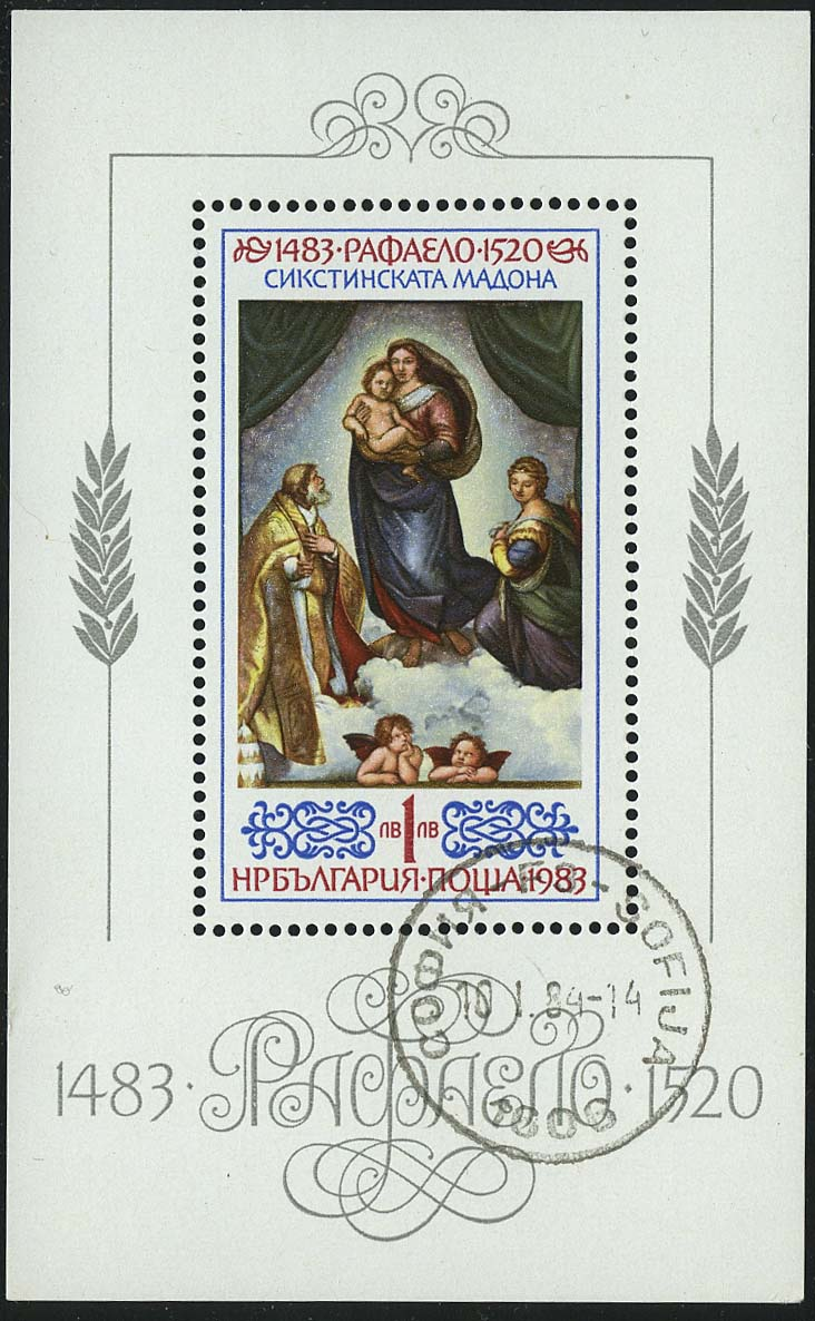 The 500th Anniversary of the Birth of Raphael, 1483-1520