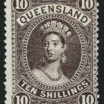 1855. Испания. Королева Изабелла II, без перф., (•) [imp-13475] 2