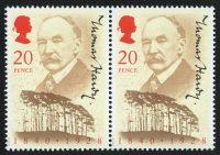 Great Britain. The 150th Anniversary of the Birth of Thomas Hardy. Великобритания. 150 лет со дня рождения Томаса Харди