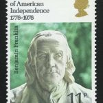 Great Britain. The 200th Anniversary of the Independence of America - Benjamin Franklin