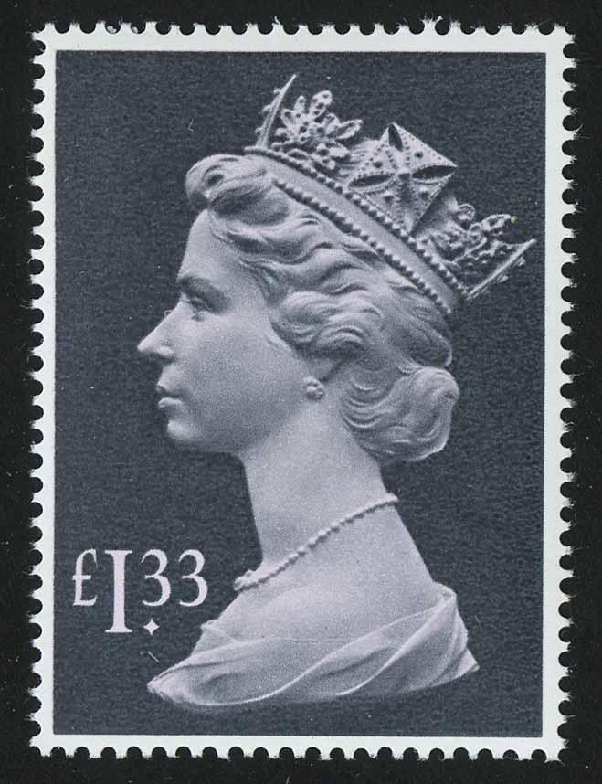1984. Великобритания. Королева Елизавета II