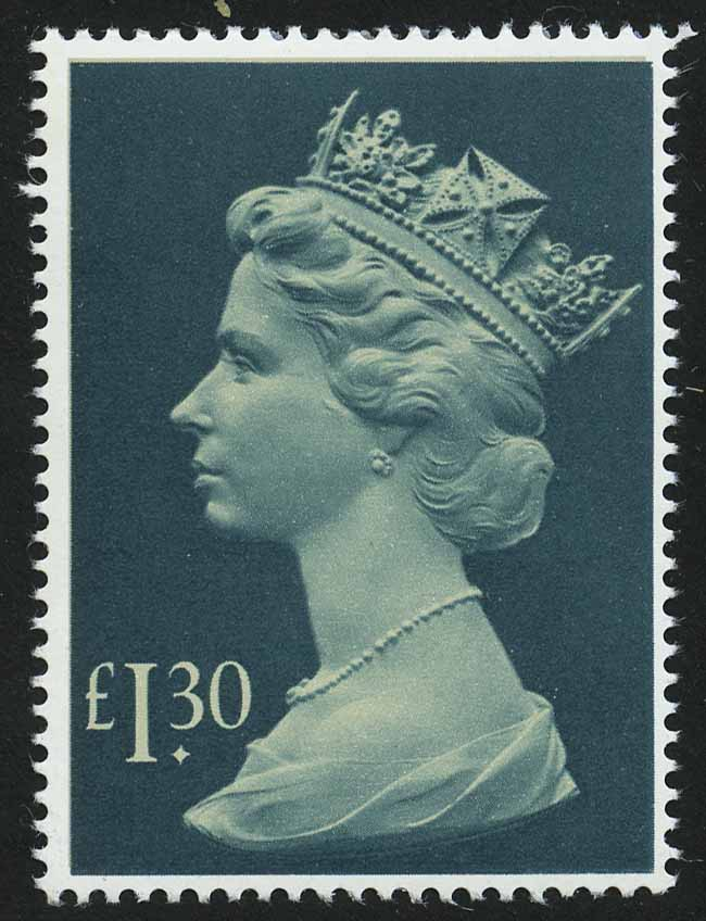 Great Britain. Queen Elizabeth II. 1984. Великобритания. Королева Елизавета II, 1.30£
