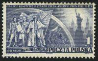 1938. Польша. 150 лет со дня основания Соединенных Штатов Америки