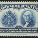 Airmail - The 150th Anniversary of U.S. Constitution