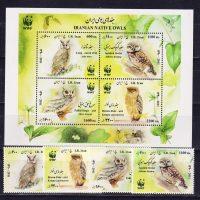 2011 Иран. WWF - Совы. Совы. Без белой рамки. [imp-13578_abr] 13