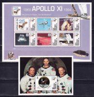 1994 Виргинские острова. 25 лет со дня высадки человека на Луну. [imp-13611_abr] 7