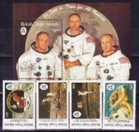 1989 Виргинские острова. 20-я годовщина первой высадки человека на Луну. [imp-13612_abr] 5