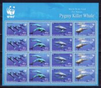 2006 Тувалу. WWF - Карликовые косатки. [imp-13620_abr] 31
