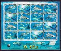 2007 Сент-Китс. Глобальное сохранение. Акулы. [imp-13621_abr] 6