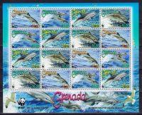 2007 Гренада. Всемирный заповедник природы - Клименский дельфин. [imp-13626_abr] 4