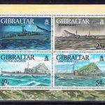 2012 Гибралтар. 100 лет со дня катастрофы на Титанике. [imp-14000_abr] 2