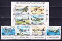 1998 Гибралтар. 80-летие Королевских ВВС. [imp-14002_abr] 5