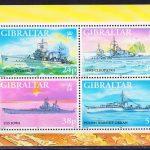 1997 Гибралтар. Бабочки. [imp-14006_abr] 3