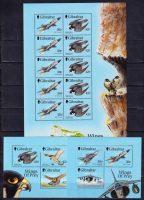 1999 Гибралтар. Крылья хищника - Птицы. Истребители. [imp-14022_abr] 19