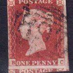 1841 Великобритания. Королева Виктория, 1819-1901 гг. 1 пенни. [imp-14026_df] 2
