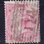 1855-1857 Великобритания. Королева Виктория - Без контрольных букв в углах. Голубоватая бумага. 4 пенса. [imp-14081_gb] 2