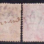 1858-1864 Великобритания. Королева Виктория - Цветные контрольные буквы в углах. 1 пени. [imp-14084_gb] 3