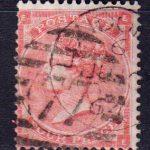 1862 Великобритания. Королева Виктория - Маленькие белые контрольные буквы в углах. 4 пенса. [imp-14086_gb] 5