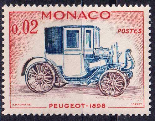 1961 Монако. Старые автомобили [imp-14108] 1