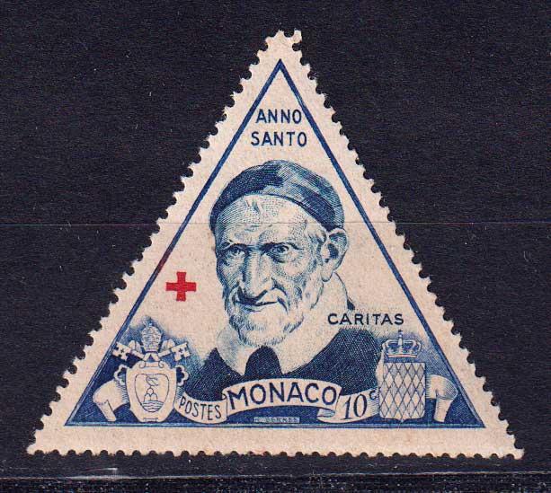 1951 Монако. Святой год 1950 [imp-14111] 1
