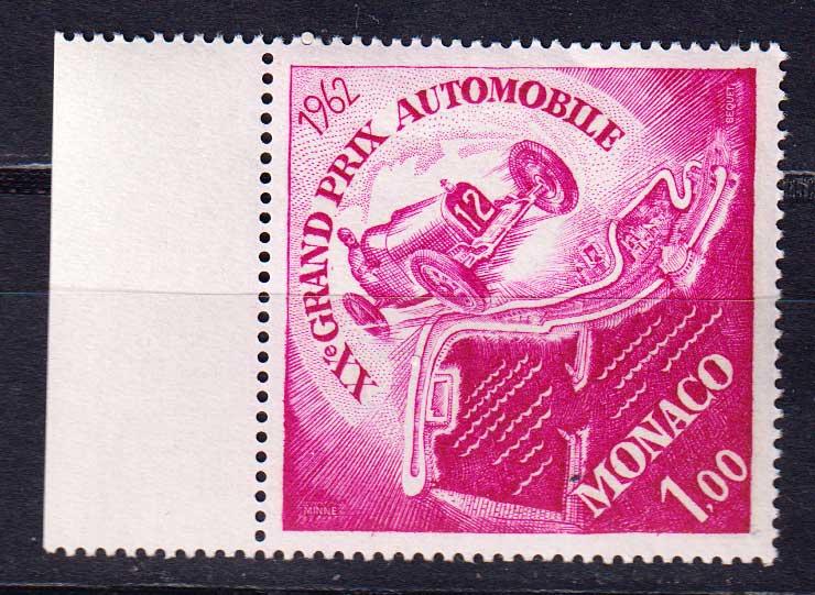 1962 Монако. 20-е Гран-при Монако по автоспорту. [imp-14123] 1