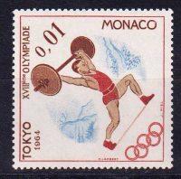 1964 Монако. Летние и зимние Олимпийские игры 1964 года - Токио, Япония и Инсбрук, Австрия [imp-14128] 36