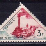 1953-1954 Монако. Доплатные марки. Транспорт [imp-14135] 2