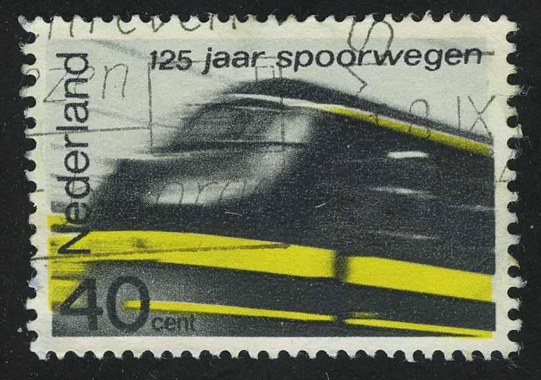 """1964. Нидерланды. Серия """"125 лет железной дороге"""""""