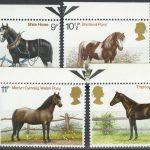 """1978. Великобритания. Серия """"Британские лошади"""""""