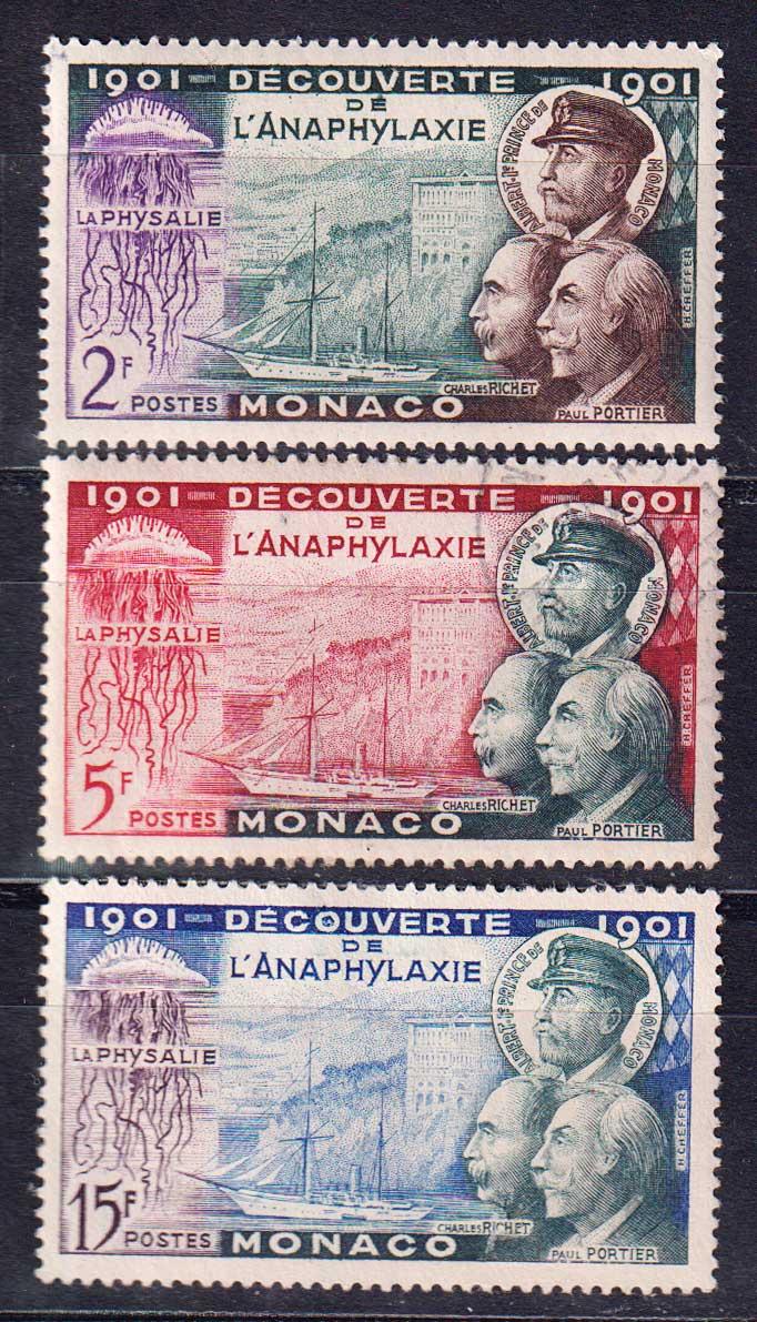 1953 Монако. 50 лет со дня открытия анафилаксии [imp-14137] 1