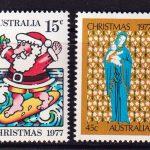 1977 Австралия. Рождество [imp-14182] 2
