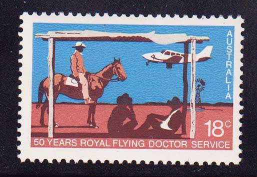 1978 Австралия. 50 лет службе летающих врачей [imp-14186] 1
