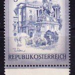 1963 Австрия. Архитектурные памятники [imp-14198] 4