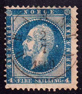 1856-1857 Норвегия. Король Оскар I, 1799-1859 [imp-14200_gt] 1