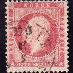 1856-1857 Норвегия. Король Оскар I, 1799-1859 [imp-14200_gt] 4