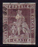 1851-1855 Тоскана. Лев Тосканский [imp-14209_gt] 17