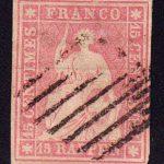 1854 Швейцария. Гельвеция - Бернский принт [imp-14216_gt] 4