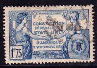 1937 Франция. 150 лет Конституции США. [imp-14226_gt] 5