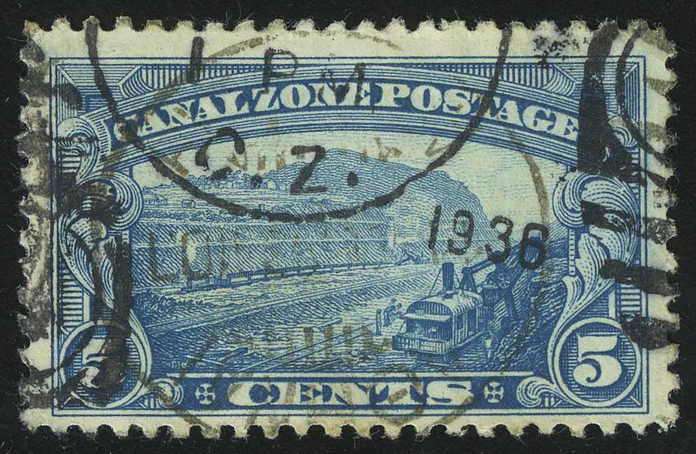 "1928. Панама / Зона канала. Серия ""Личности, Пейзаж"", 1/10, (•) [imp-13811]"