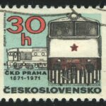 1971 The 100th Anniversary of Prague C.K.D. Locomotive Works