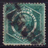 1854-1855 Новый Южный Уэльс. Королева Виктория [imp-14257] 2