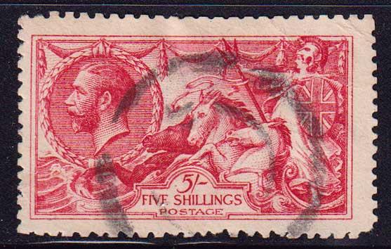 1918 Великобритания. Король Георг V [imp-14260] 1