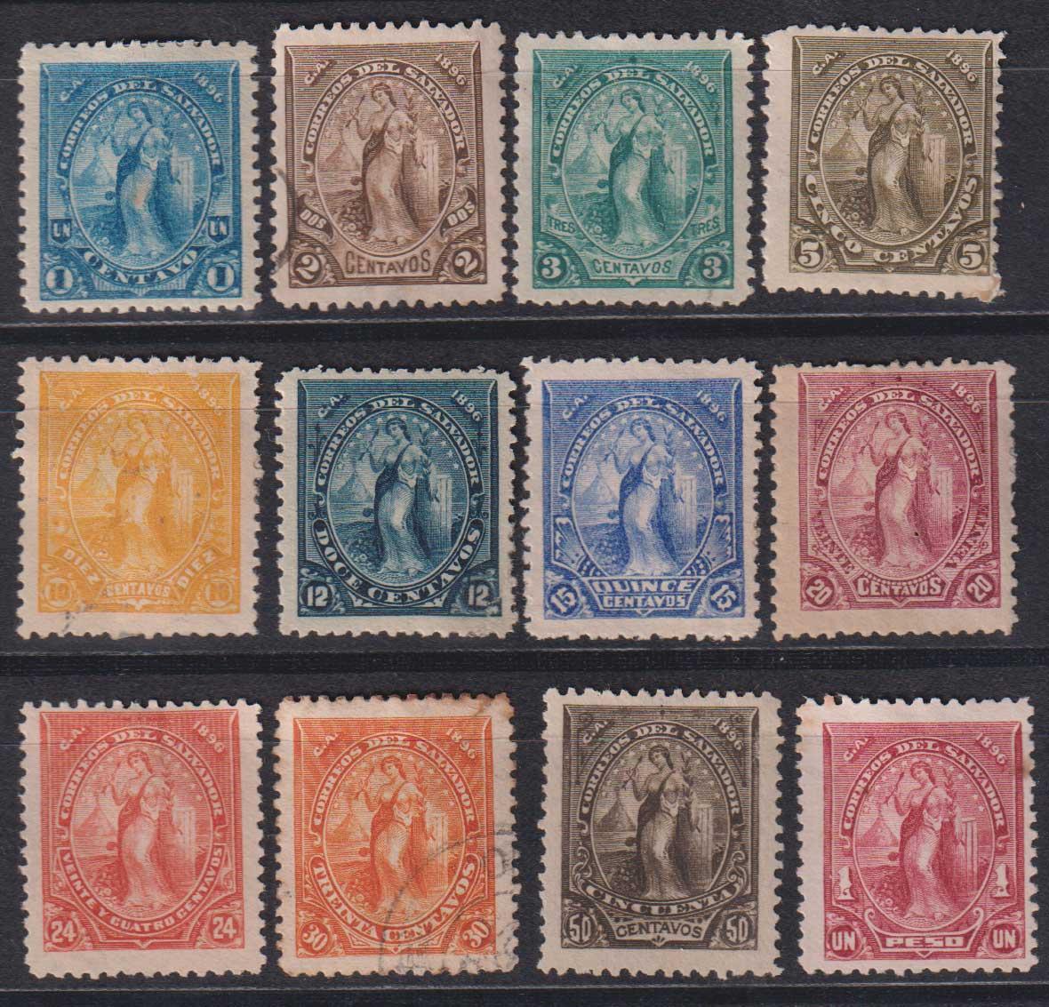 1896 Сальвадор. Свобода [imp-14270] 1