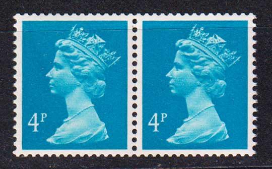 1981 Великобритания. Королева Елизавета II. Пара. 4 Р [imp-14283] 1